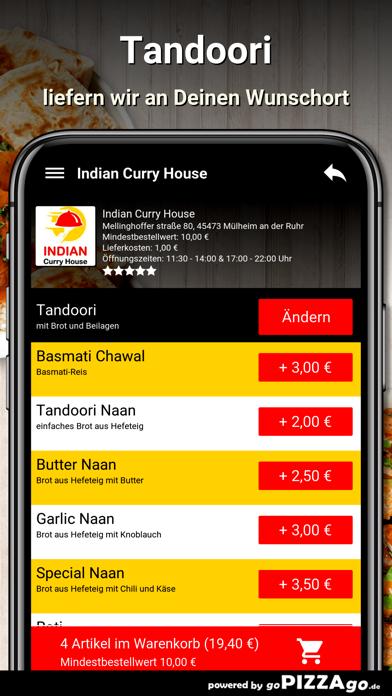 Indian Curry House Mülheim screenshot 6