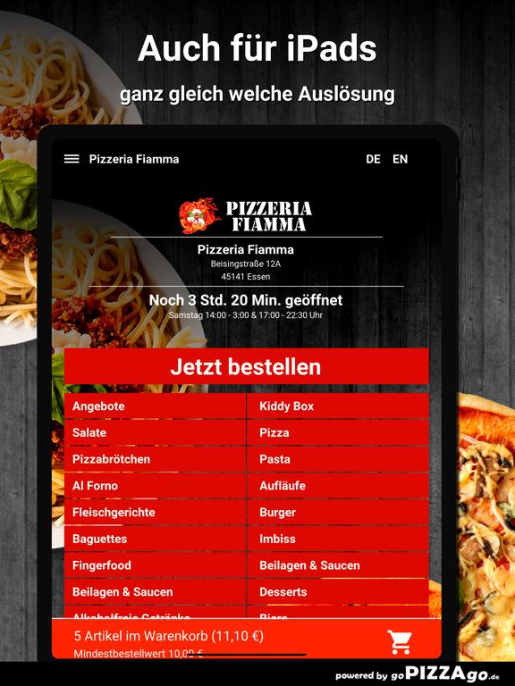 Pizzeria Fiamma Essen screenshot 7