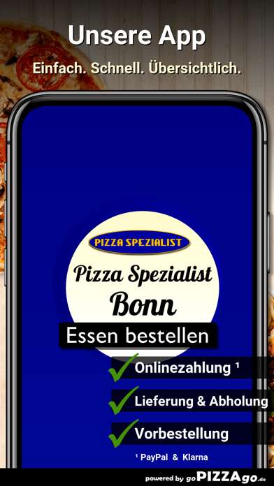 Pizza Spezialist Bonn screenshot 1
