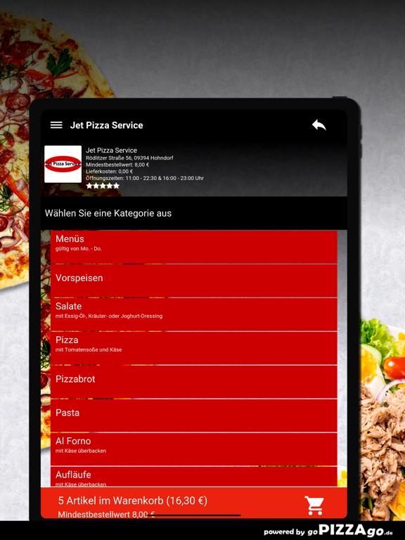 Jet Pizza Service Hohndorf screenshot 8