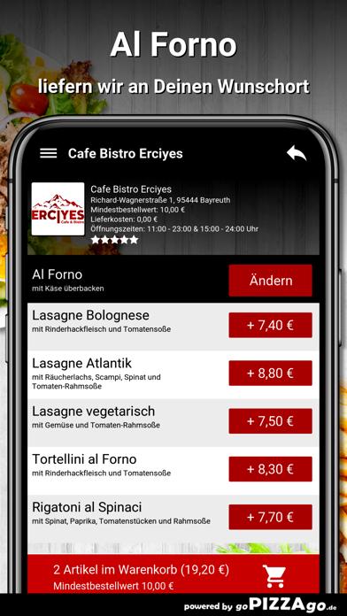 Cafe Bistro Erciyes Bayreuth screenshot 6