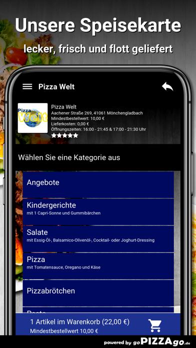 Pizza Welt Mönchengladbach screenshot 4