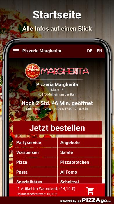 Pizzeria Margherita Mülheim screenshot 2