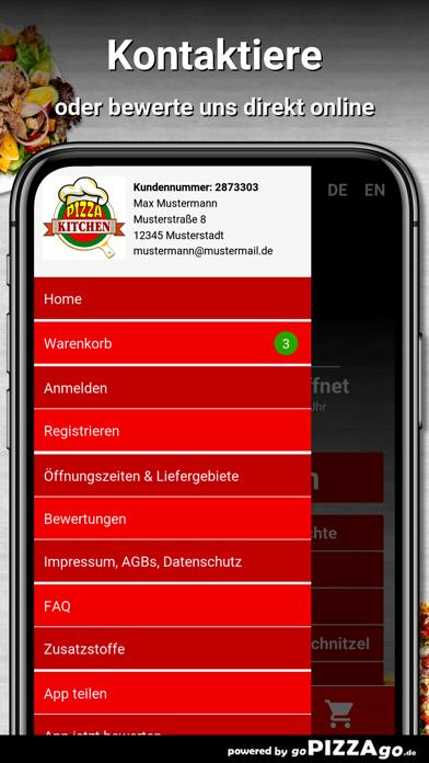 Pizza Kitchen Bielefeld screenshot 3