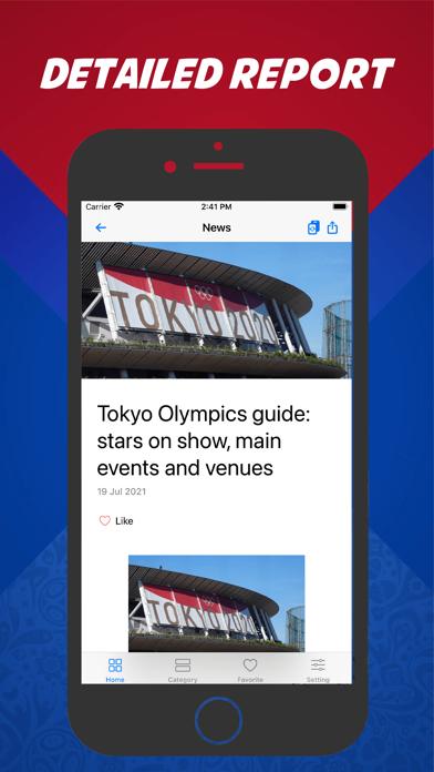 BSS Reader - Sports broadcast screenshot 2