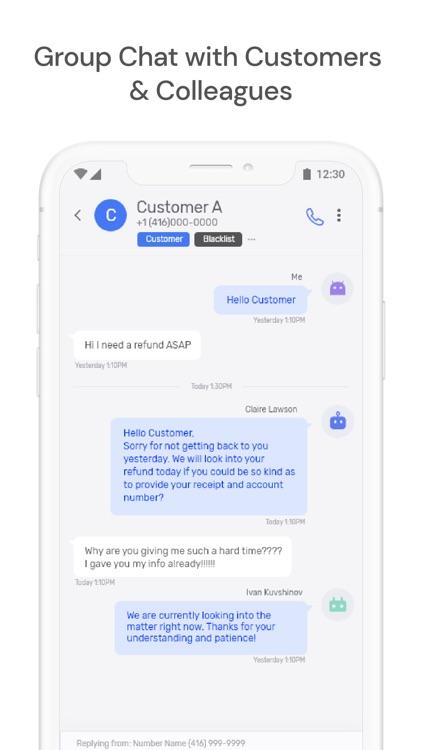Textr — Business Phone Number screenshot-5