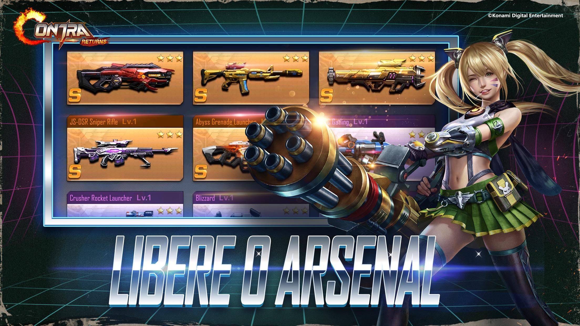 Screenshot do app Contra Returns