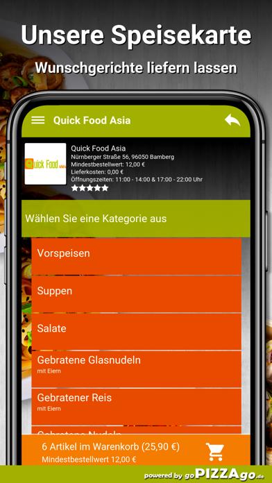 Quick Food Asia Bamberg screenshot 4