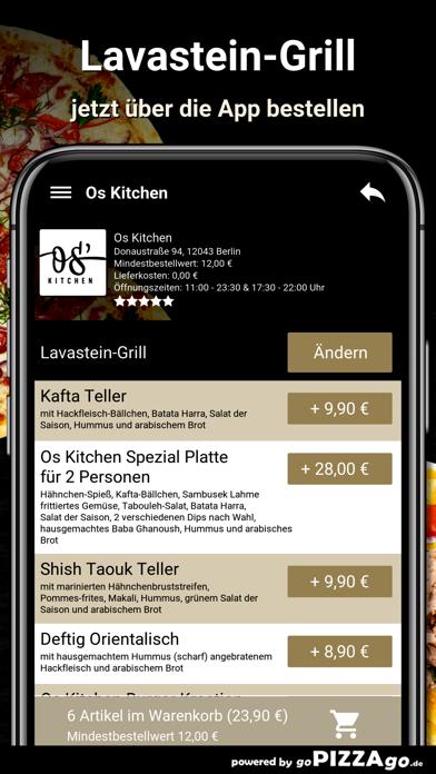 Os Kitchen Berlin screenshot 5
