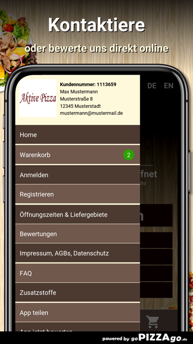 Aktive Pizza Bad Wildbad screenshot 3