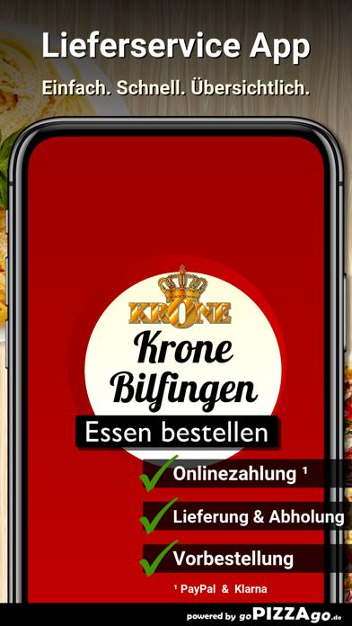 Krone Pizzeria Bilfingen screenshot 1