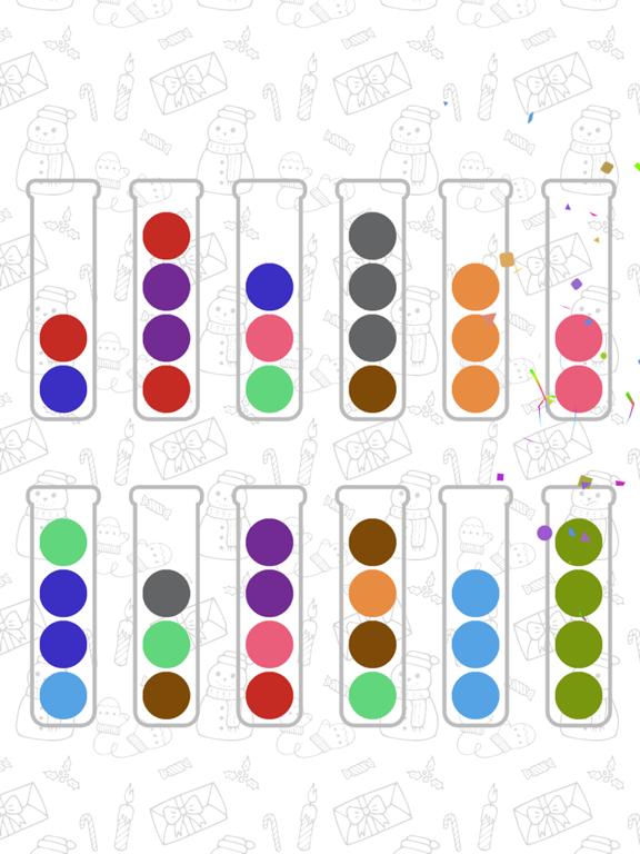 Ball Sort Puzzle iPad app afbeelding 8