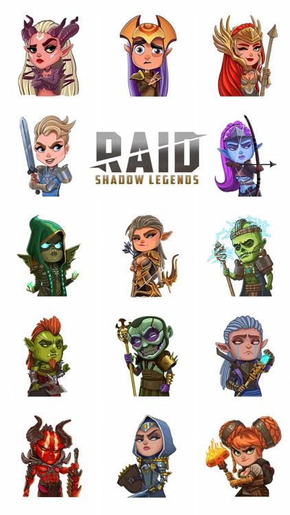 Raid Sticker Pack