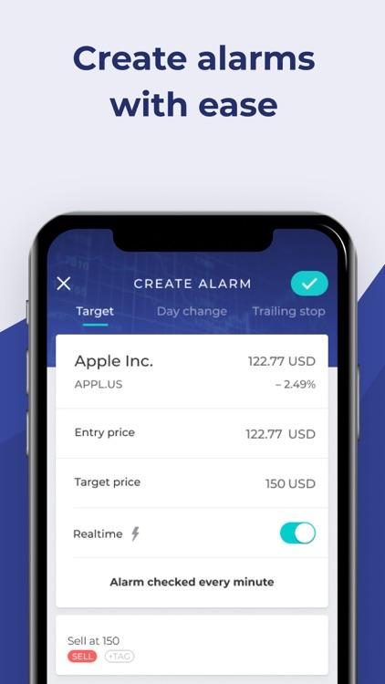 Stock Alert: Custom alarms screenshot-3