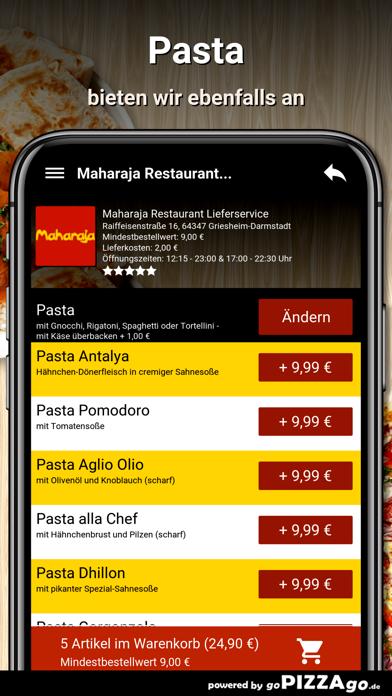 Maharaja Restaurant Liefer screenshot 6