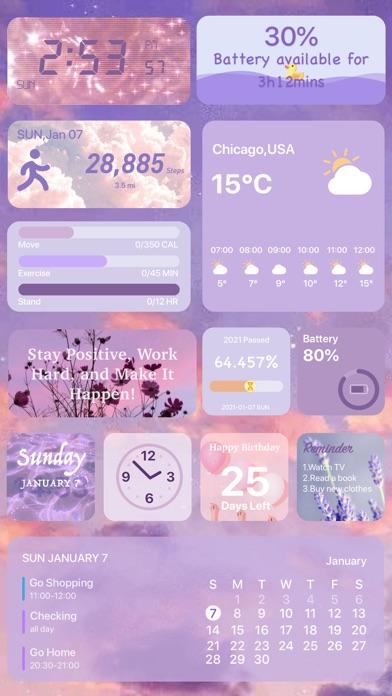 Color Widgets-Photo Widget.s Screenshot