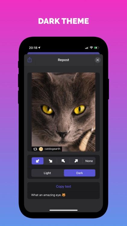InstRepost - Photos & Videos screenshot-3
