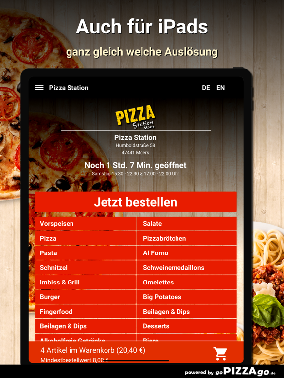 Pizza Station Moers screenshot 7