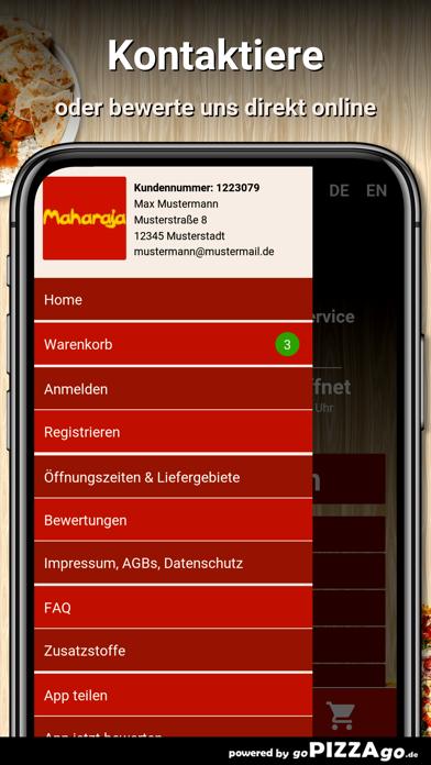 Maharaja Restaurant Liefer screenshot 3