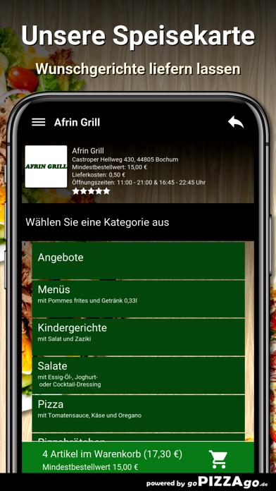 Afrin Grill Bochum screenshot 4