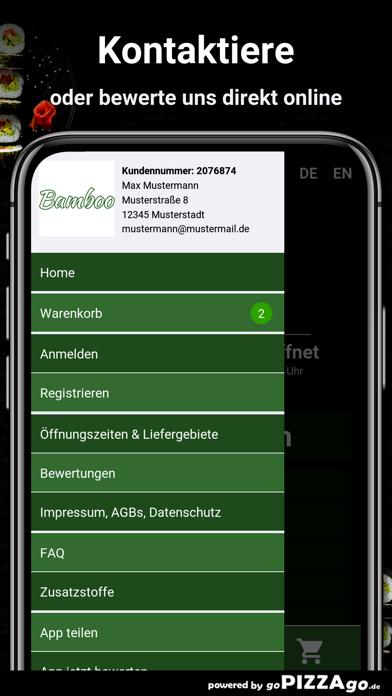 Restaurant Bamboo Berlin screenshot 3