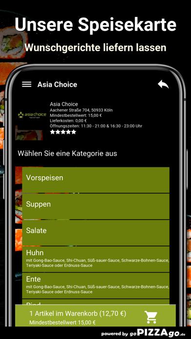 Asia Choice Köln screenshot 4