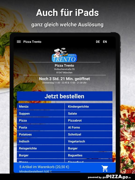 Pizza-Trento München screenshot 7