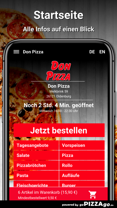 Don Pizza Oldenburg screenshot 2