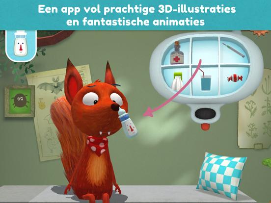 Little Fox Dierendokter 3D iPad app afbeelding 2
