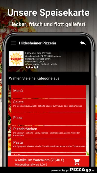 Hildesheimer Pizzeria Hildeshe screenshot 4