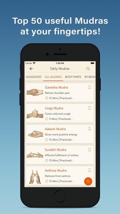 Daily Mudras (Yoga) screenshot 4
