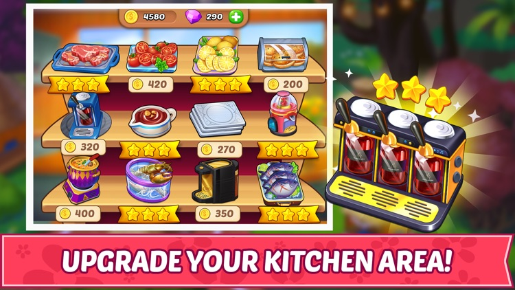 Cooking Story ™ Chef Cook Game screenshot-4