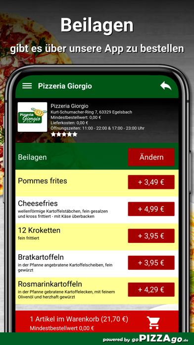 Pizzeria Giorgio Egelsbach screenshot 6