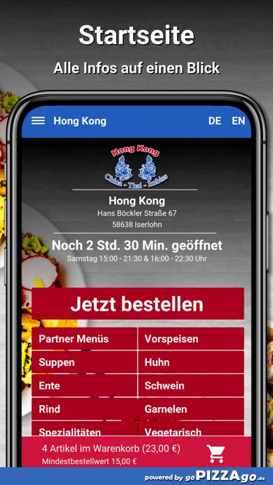 Hong Kong Iserlohn screenshot 2