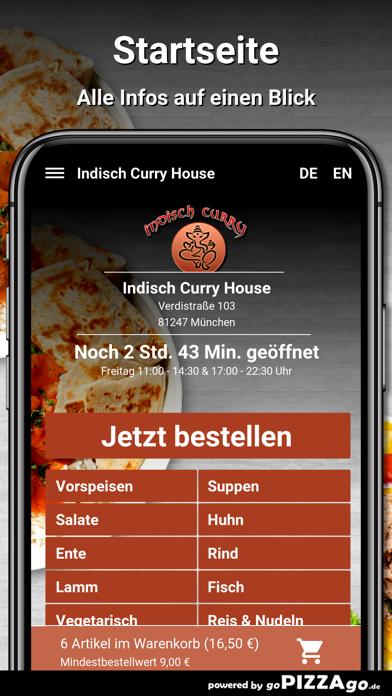 Indisch Curry House München screenshot 4