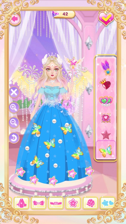 Princess unicorn dress up game screenshot-7