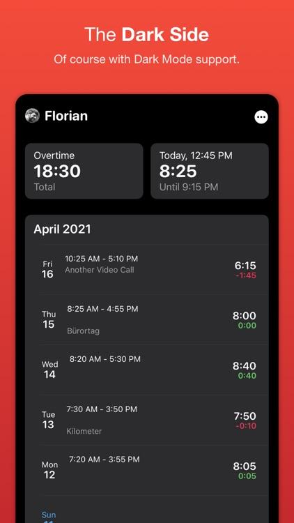 WorkTimes - Hours Tracker screenshot-6