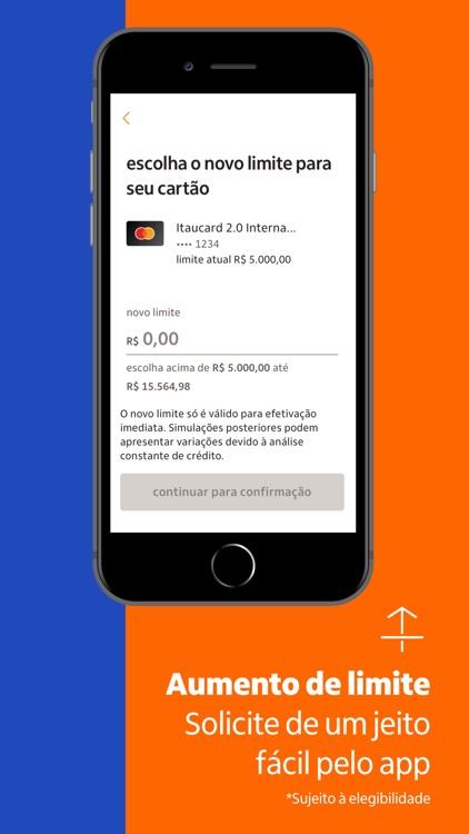 Itaucard cartão de crédito screenshot-5