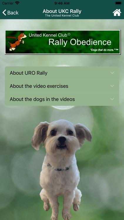 UKC Rally Dog Obedience screenshot-7