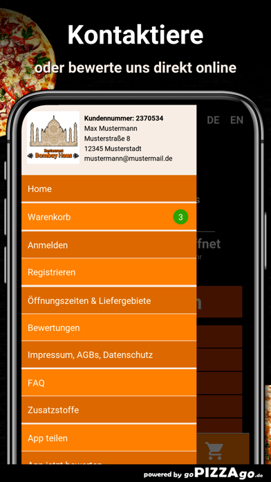 Restaurant Bombay Haus Rodgau screenshot 3
