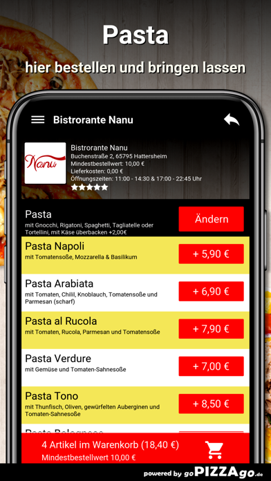 Bistrorante Nanu Hattersheim screenshot 6