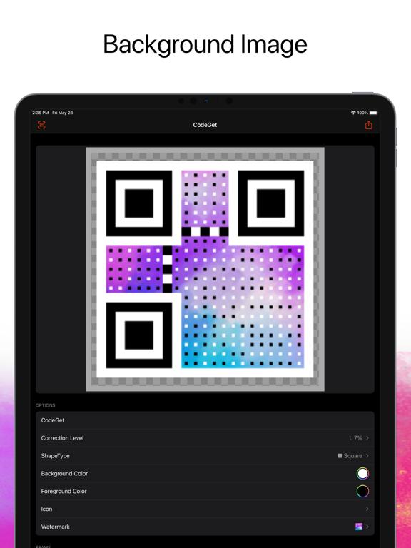 CodeGet Qr Code Generator screenshot 7