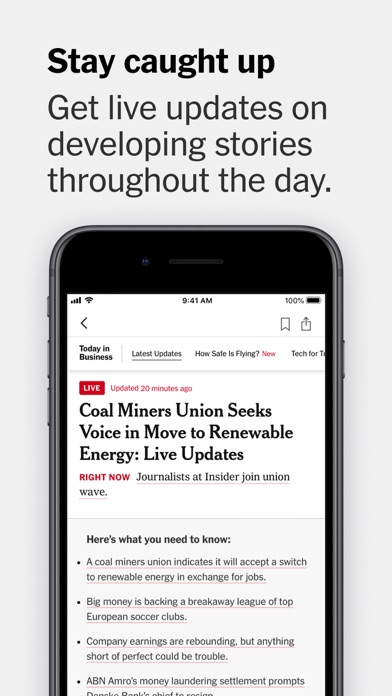 The New York Times iPhone