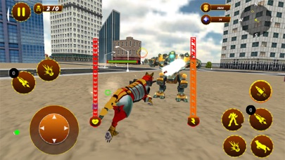 Angry Wolf Robot Battle Game紹介画像3