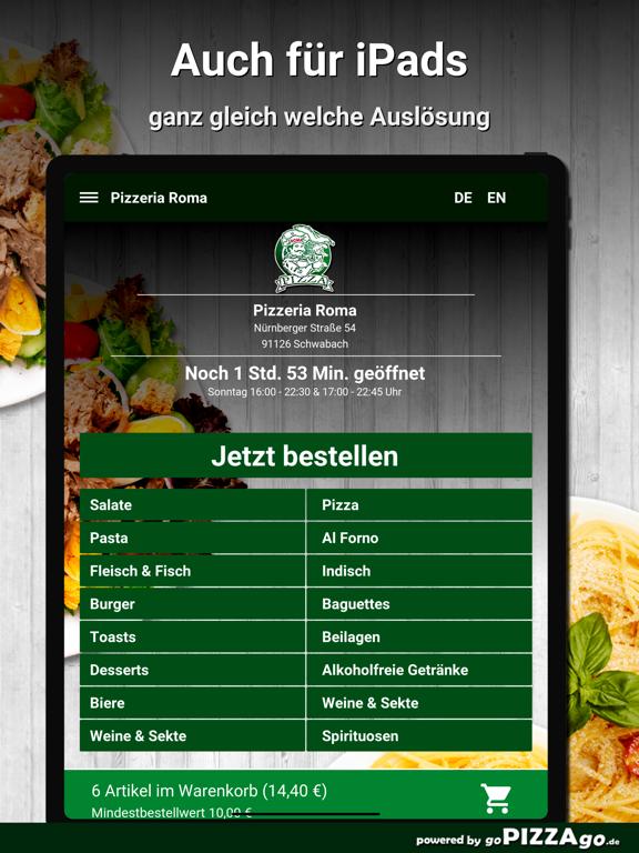 Pizzeria Roma Schwabach screenshot 7