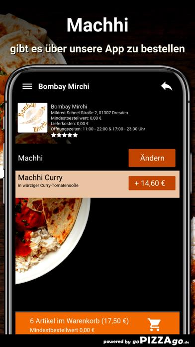Bombay Mirchi Dresden screenshot 6