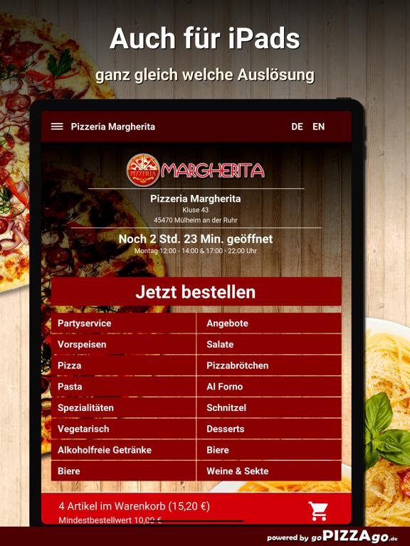 Pizzeria Margherita Mülheim screenshot 7