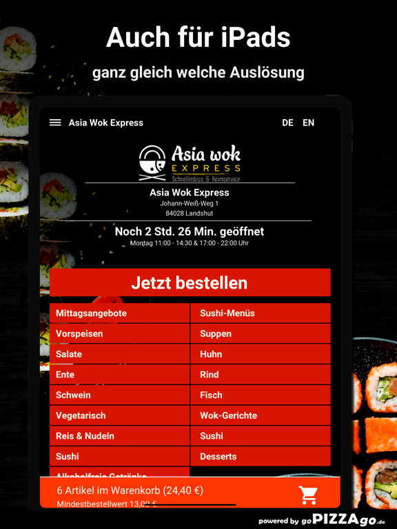 Asia Wok Express Landshut screenshot 7
