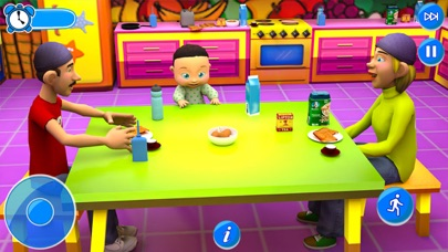 My Virtual Mom:Dream Family 3D Screenshot on iOS