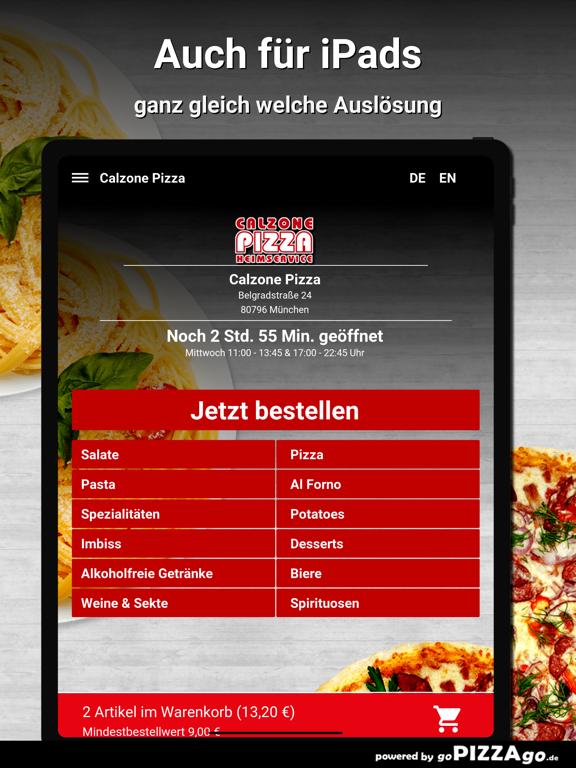 Calzone-Pizza München screenshot 8